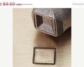 HUGE 40% Off SALE Block Stamp Stick Figure  - 6mm - New metal jewlery design stamp - by ImpressArt Sd-P-11