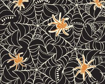 Caught in a Web Black: Maude Asbury Spooktacular 1 Yard