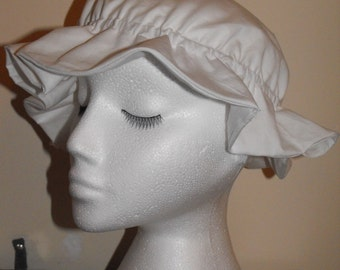 Handmade mop cap - custom made - choice of colour