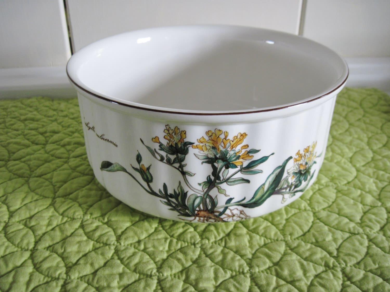 villeroy boch botanica with roots serving bowl large. Black Bedroom Furniture Sets. Home Design Ideas