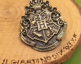 Harry Potter - Hogwarts Houses Pin, (also available Gryffindor, Slytherin, Ravenclaw, Hufflepuff)