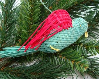 Woven Bird from Merida,  Mexico