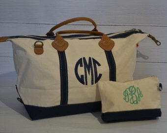 Personalized Weekender Overnight Bag Tote-