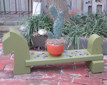 Garden watch dog - Plant dog - Garden stand - Plant stand - Plant dog