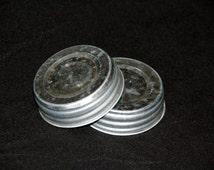 Mason Jar Lids 10ct - for your DIY Crafts - 10 Ball Jar Lids for Regular Mouth Canning Jars