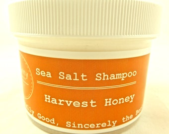 Harvest Honey Sea Salt Shampoo (Moroccan Argan Oil)