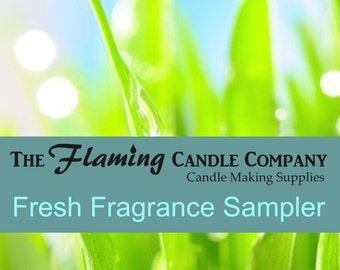 Fresh Fragrance Oil Sampler - FREE SHIPPING