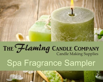 Spa Fragrance Oil Sampler - FREE SHIPPING