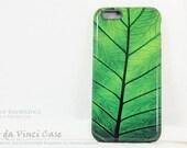 Green Leaf iPhone 6 6s Case - Leafy iPhone 6 Cover - Leaf of Knowledge - Artistic iPhone 6 Dual Layer Case by da Vinci Case