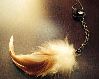 Soft Feather Necklace