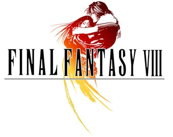 Final Fantasy VIII Poster, Video Game Poster
