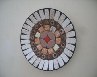 Vintage,Mid Century, Mosaic dish