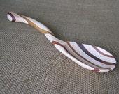 Handmade Kitchen Spoon Laminated Wood