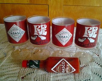 Tabasco Redeye collectible glasses