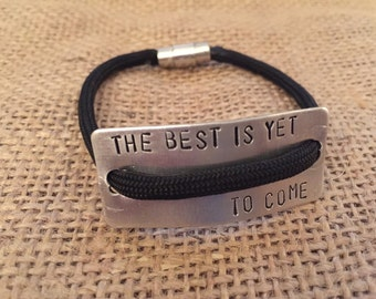 Paracord Lifestyle Bracelet - The Best is Yet To Come