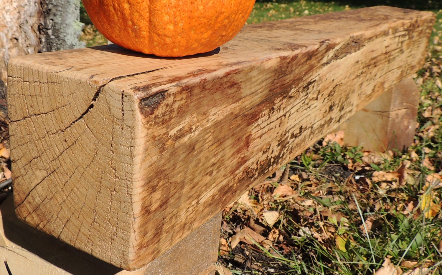 rustic reclaimed spalted maple fireplace mantel or by