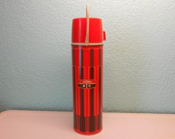 Vintage Thermos brand thermos, Classic thermos, Retro thermos, Picnic supplies, Thermos,Tailgating supplies, Collectible thermos