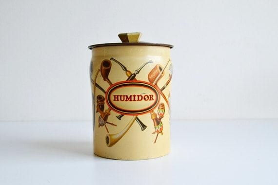 tubes vintage de bo te en fer blanc horner par itsvintageindeed. Black Bedroom Furniture Sets. Home Design Ideas