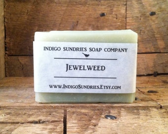 Jewelweed Soap for Poison Ivy, Poison Oak, Poison Sumac and Rashes // Handmade Vegan Jewelweed Soap // Jewel Weed Soap // Poison Ivy Soap