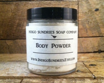 Silky Body Powder - Choose your fragrance - Natural Fresh Cooling Absorbent
