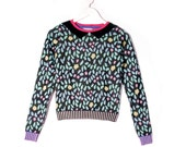 Garden Mosaïc Chic Sweater