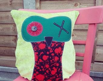 Zombie Owl Cushion