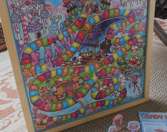 Popular Items For Candy Land Game On Etsy