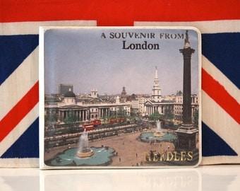 Vintage London Scenes Needle Case London Souvenir Sewing Case