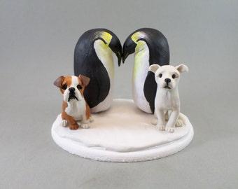 Custom Handmade Animal Wedding Cake Topper