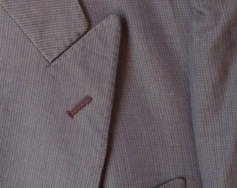 SALE! Vintage 1960s Paolo Vista Custom Italian Made Suit Coat...beautiful, never used! Size 42R