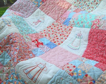 Fashion Confections baby quilt, wall hanging, table cover PDF digital pattern