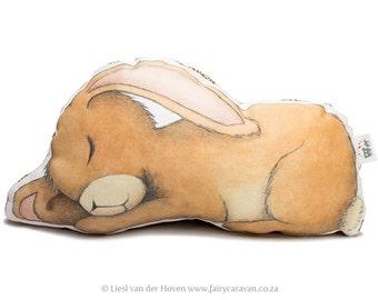 Sleepy Bunny pillow friend