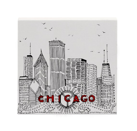 Cityscapes Art Drawing Chicago Skyline Art Cityscape