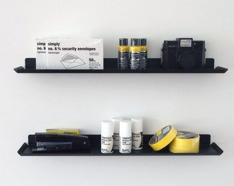 Slim Wall Shelf - Black