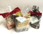 Soap - gift bag - soap gift bag - soap assortment - soap variety - soap bundle - hand made soap - hand made soap bars