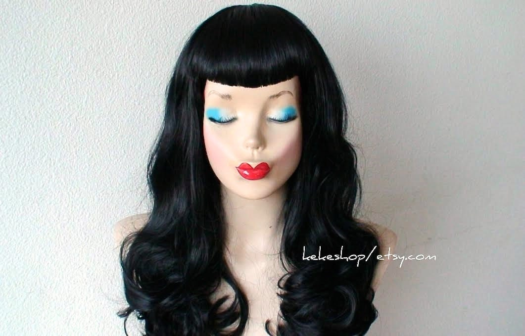 Bettie Page Hair Bangs