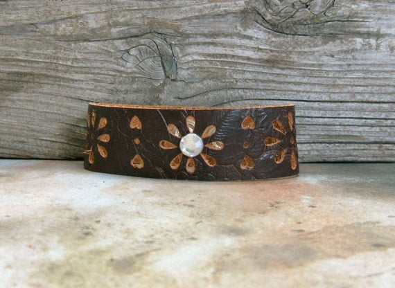 Leather Cuff from Montana Magic
