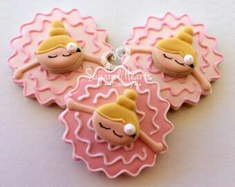 Ballerina Ballet Cookies