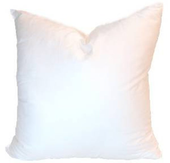 Throw Pillow Forms : 18 x 18 Pillow Insert Luxury Soft Synthetic