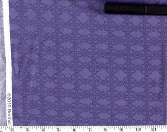 1 Yard, Purple Lattice Brother Sister Design Studio B34-ID-P27