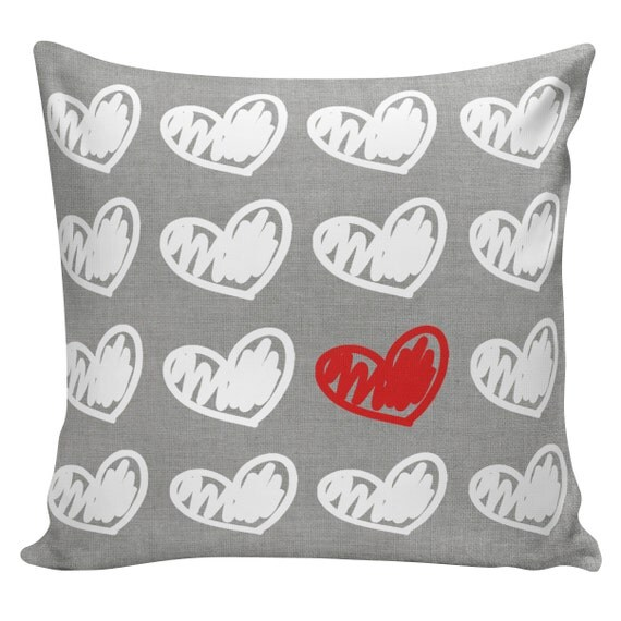 Personalized Butterfly Heart Throw Pillow Cover : Items similar to Wedding Pillow Love Throw Pillow Cover Vintage Wedding Personalized Hearts ...