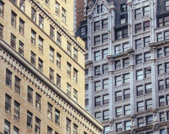 NYC Buildings, New York City Print, Urban Print, NY Photo, NYC Print