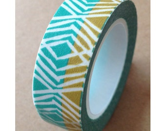 "Washi Tape ""Bahamas"" 15mm x  10 Meters"