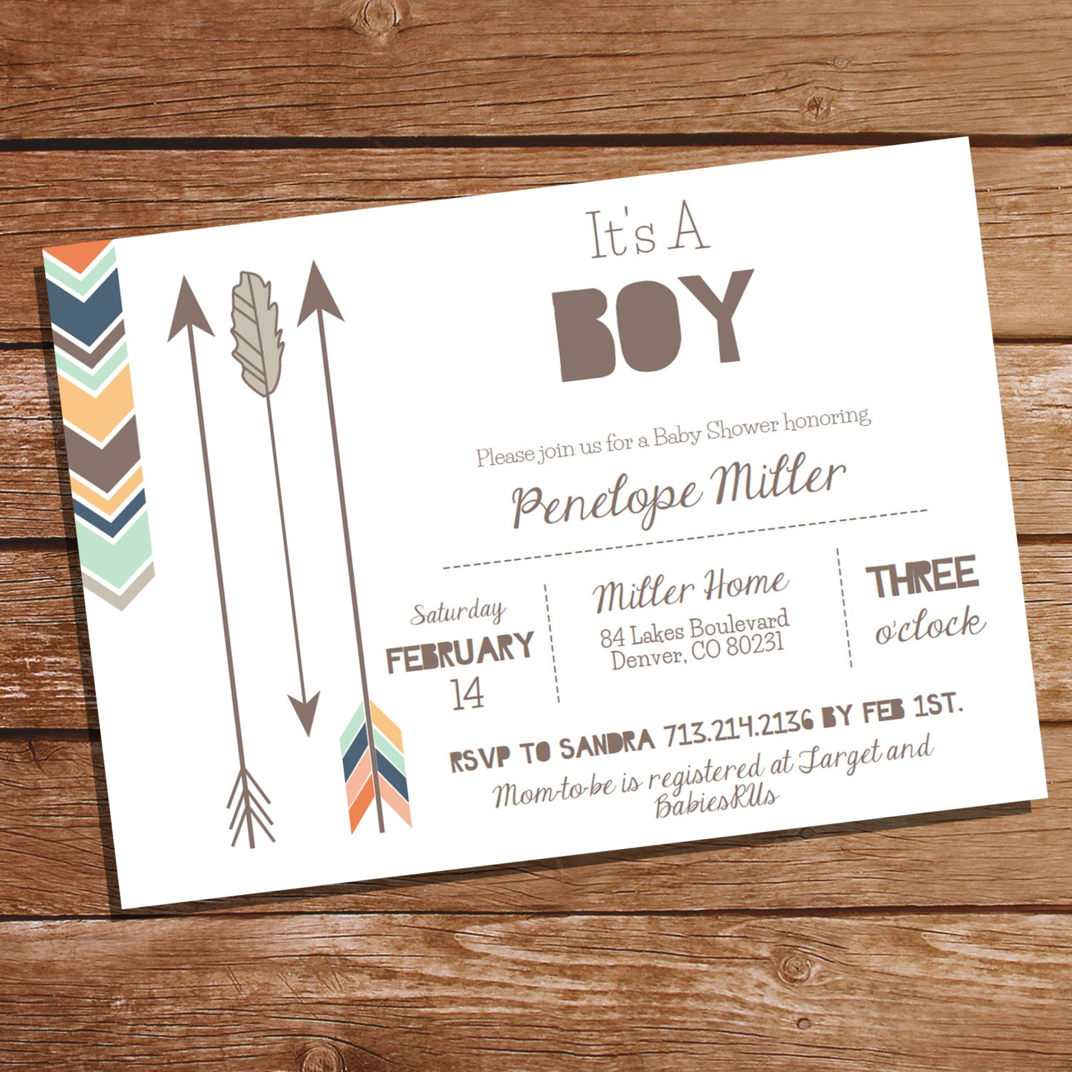 tribal baby shower party invitation tribal by sunshineparties, Baby shower