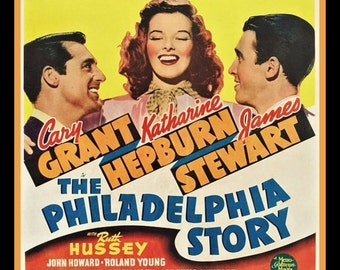 The Philadelphia Story Fridge Magnet movie poster image