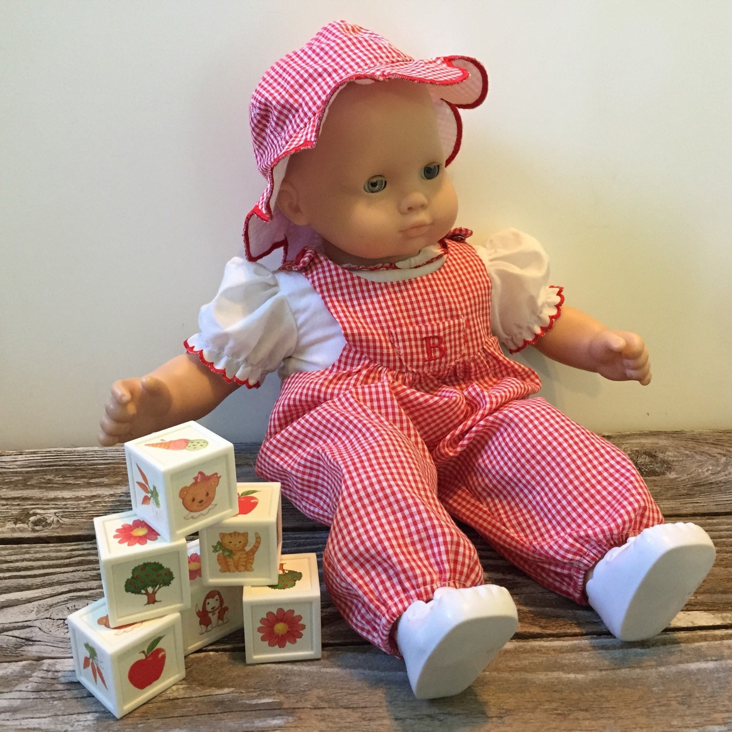 Vintage 1995 Bitty Baby Doll Fun in the Sun Outfit by