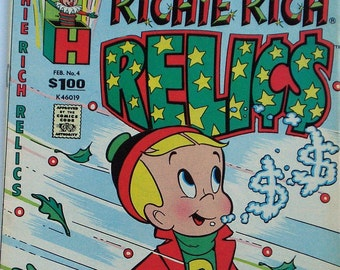 Richie Rich Relics, Harvey Comics, Feb. 1989, No. 4 - A Blast From the Past