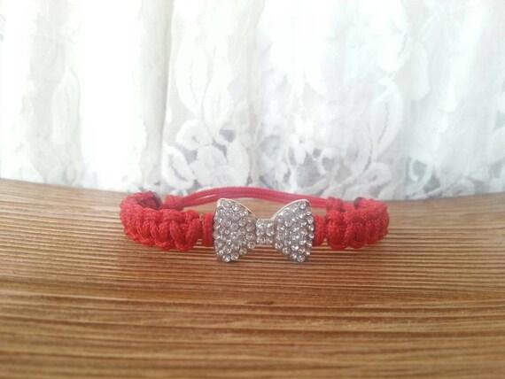 Bow Tie Bracelet Bow Tie Paracord Bracelet