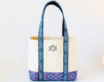 "Shop ""monogram tote bag"" in Cosmetic & Toiletry Storage"