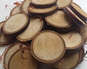Cherry wooden slices, 5-6cm, Tree slices, wood slices, branch slices, wooden slices, wedding, UK, name tags, wedding favours, wedding,